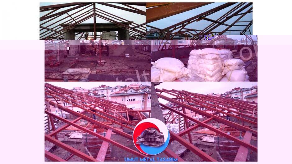 çelik-çatı-çalışması
