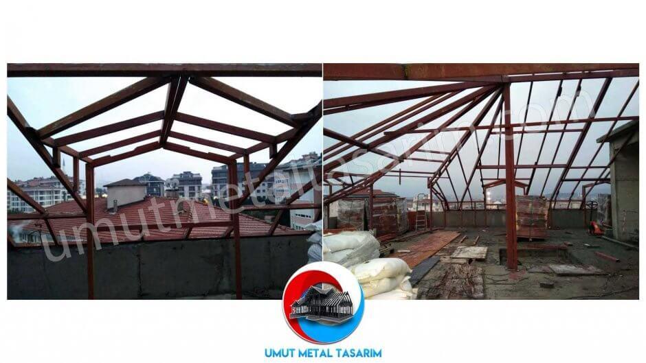 çelik-çatı-uygulama