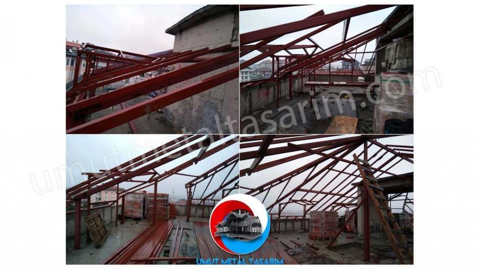 çelik-konstrüksiyon-çatı