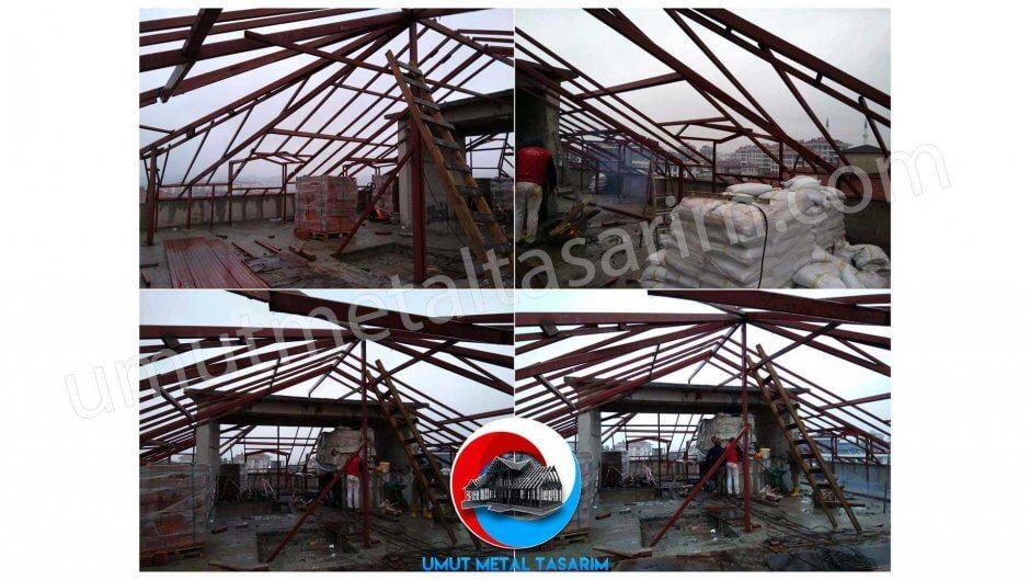 çelik-konstrüksiyon-çatı-mimari