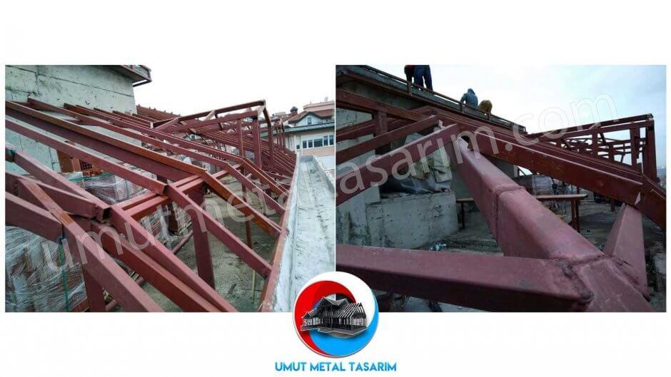 çelik-konstrüksiyon-çatı-modelleri