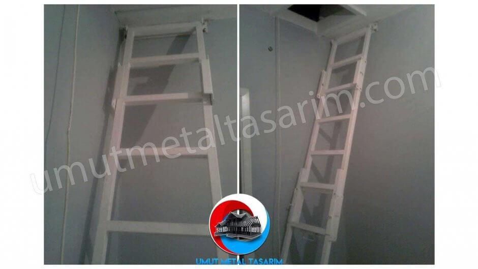 katlanır-çatı-merdiveni